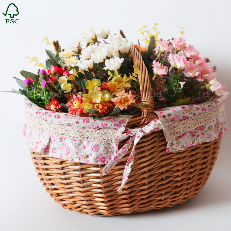 Wholesale new high quality Wicker Basket useful home