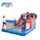 Spiderman Inflatable Jumping Bouncy Castle Slide With Deflate Function