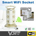 VONES 2014 Hot High quality Smart WiFi multi socket