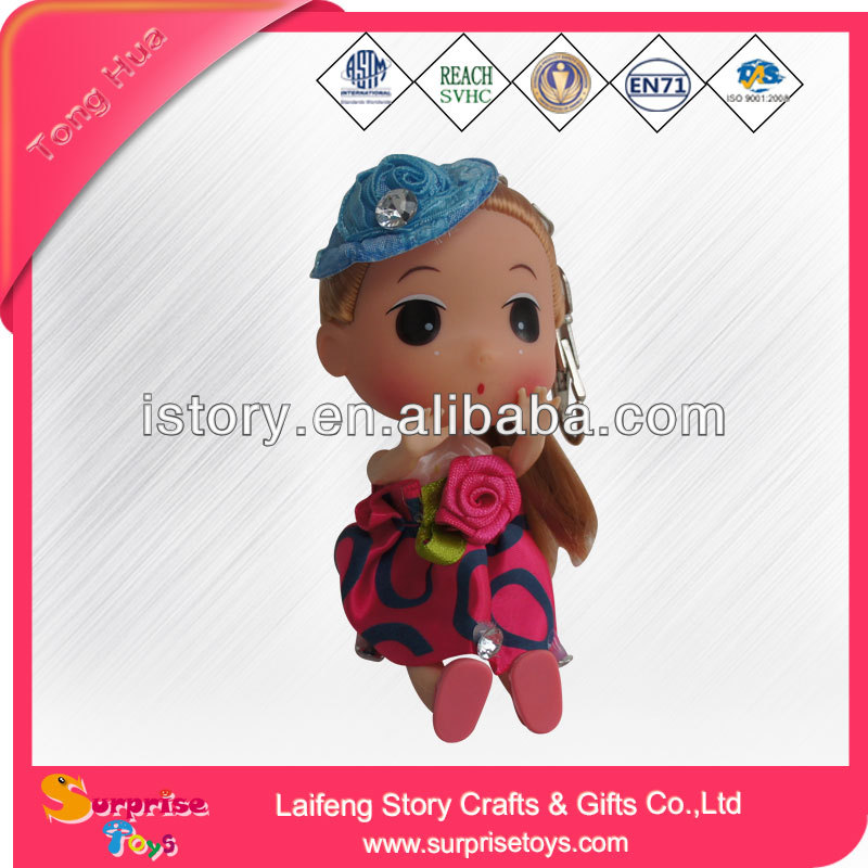 customized/custom ball jointed dolls bobble head doll