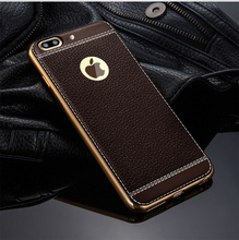 Soft tpu litchi stria leather grain back phone case for samsung galaxy note 8, for galaxy note 8 tpu back cover case