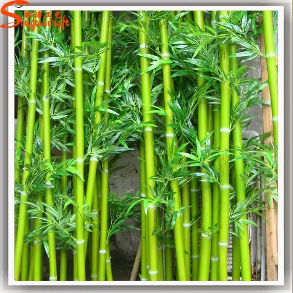 Wholesale outdoor artificial lucky bamboo fence high