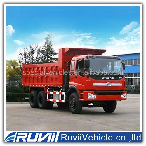 Diesel Locomotive ((2016)) Ruvii 6x4 Dumper/ dump truck for sale. Easy Loading Dump Truck