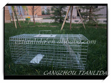 Metal Collapsible Animal Trap Cage Easy Catch Rat Trap Cage TLD2015A