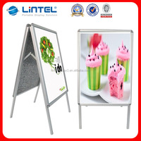 A1 double side poster stand a board