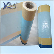 woven polypropylene fabric in roll