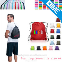 High Quality Thick 600D Polyester Drawstring Bag For Gym Sports