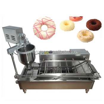 New commercial electric automatic bagel donut machine