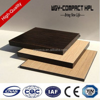 Formica sheet 8mm HPL black core compact laminate