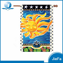 Chinese Factory Summer Garden Flag