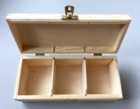 custom natural color unfinished solid pine wooden seed box
