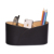 Shoe-Shaped Silver Ingot Leather Pencil Holder/Office Stationery Box