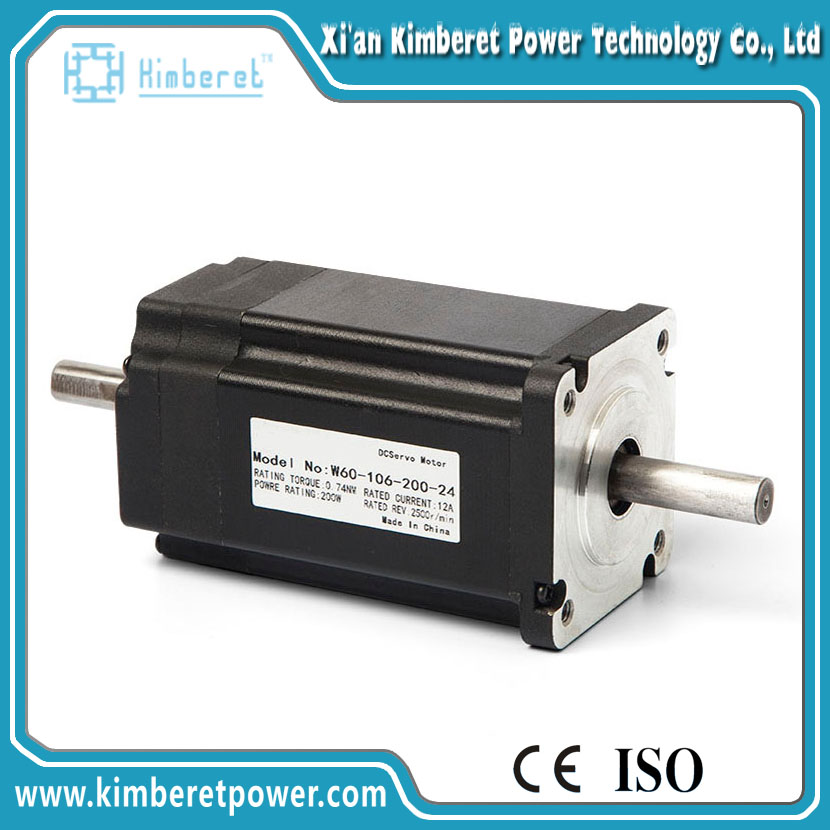 W60-106-200-24 hIgh quality Hore low rpm brushless dc motor