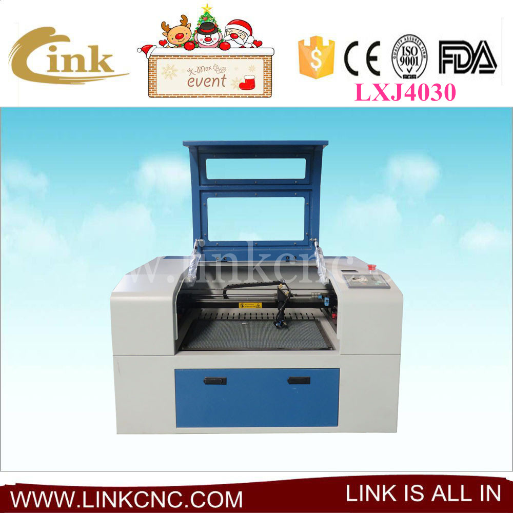 Factory supply hobby laser engraving machine/ laser cutter 4030