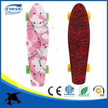 Pp skateboard deck with Abec-7 skatebaord bearing w/o electric foot fish skateboard