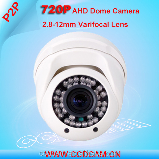 2.8-12 Varifocal Lens HD 720P Thermal Camera in Security IR Night Vision 1MP AHD CCTV Camera Price List