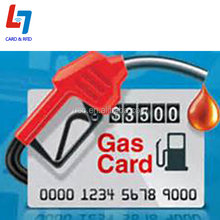 ISO 14443A 13.56MHZ Gas Card With free style &Compace and Convenient
