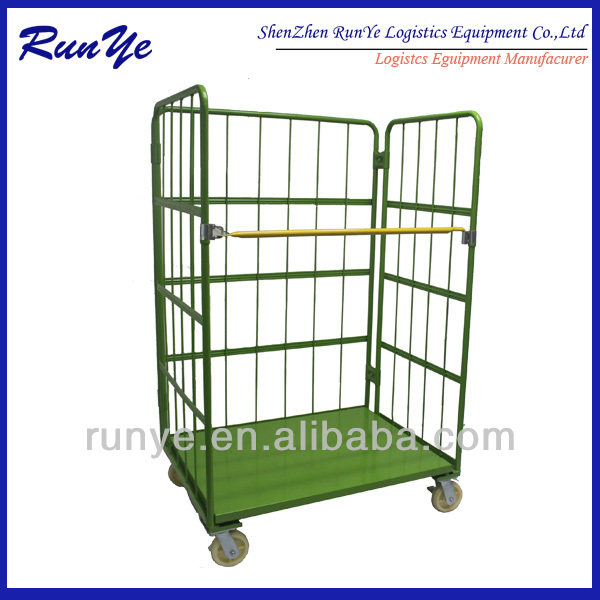 roll trolley overlap and savespace /logistic cart /folding roll container save yourself the trouble of reloading