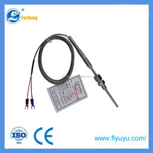 T/J/pt100/k type thermocouple probe gas stove grill industrial temperature sensor instrument with connector