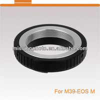Pmissio Lens Mount Adapter, for Leica M39, L39 Screw Mount (39mm thread) Lens to Canon EOS M Mirrorless Cameras