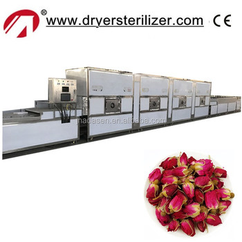 New products microwave drying and extracting machine for rose