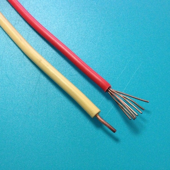Electric Wire Supplier : Non sheathed solid electric wire supplier builing cable