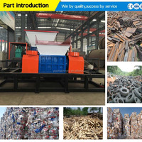 Large Production Capacity Rubber Shredder Machine