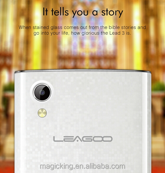 MT6582 Quad core 1.3Ghz Processor Cortex A7smartphone handset leagoo lead 3