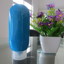220ml Blue color plastic tubes and bottles for lotion