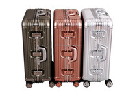 aluminum travel case luggage case trolley case