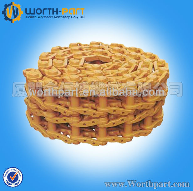 Excavator and Bulldozer Track link assembly,Track chain link