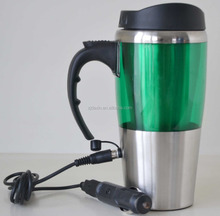 New Product 12V Electric USB Heated Thermos Mug