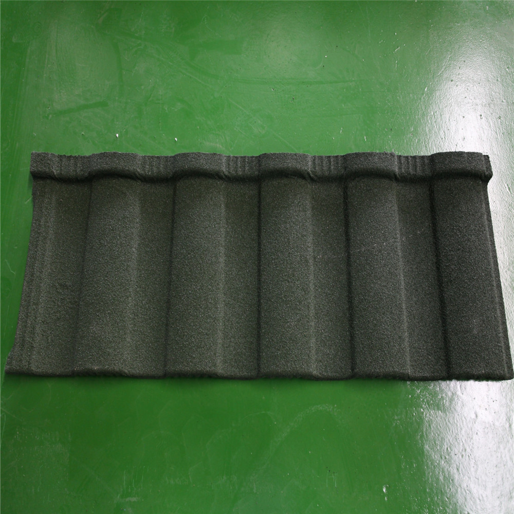 high quality stone coated metal roof tiles for house