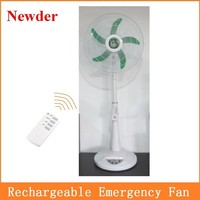 18 inch AC DC rechargeable standing fan MODEL 291A