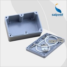 Saipwell New 120*80*55mm SP-AG-FA2-1 with four screw ,two Corner ip65 aluminum box