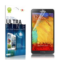High clear blue film screen protector for mobile phone samsung galaxy note 3