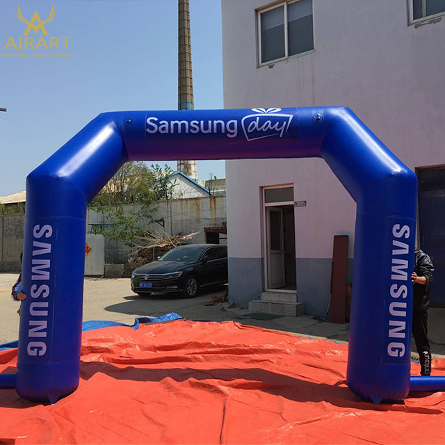 Digital printing advertising inflatable arch