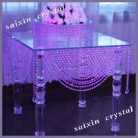 Gorgeous crystal table wedding crystal mandaps