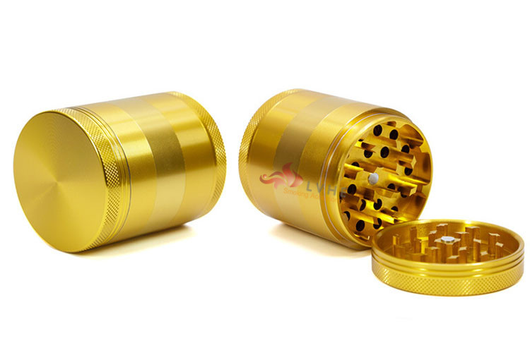 T076GA Tolly China Smoking Accessories 5 Parts 55MM Weed Herb Grinder