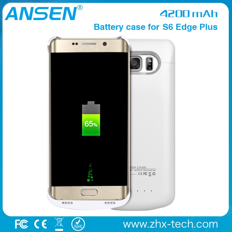 android solar charger case Charger for samsung Power case for Samsung S6 EDGE PLUS Battery case 4200mah Cover