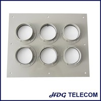 cable entry system aluminum alloy feeder cable plate