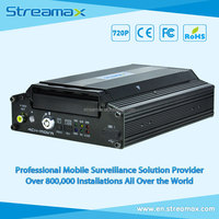 4CH HD School Bus Mobile DVR - Streamax X1-N0400 with GPS, 3G/4G/WIFI Optional