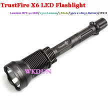 2300 Lumen 5 Mode Trustfire X6 SST Led Flashlight use for camping, searching, exploring