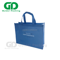 BSCI Audited Factory Wholesale Price Custom Printed Eco Friendly Recycle Reusable PP Laminated Non Woven Tote Shopping Bags