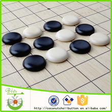 Free sample natural tagua nut go chess game piece supplies