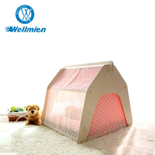 Comfortable Pet Wood House, Soft Wooden Pet Bed House