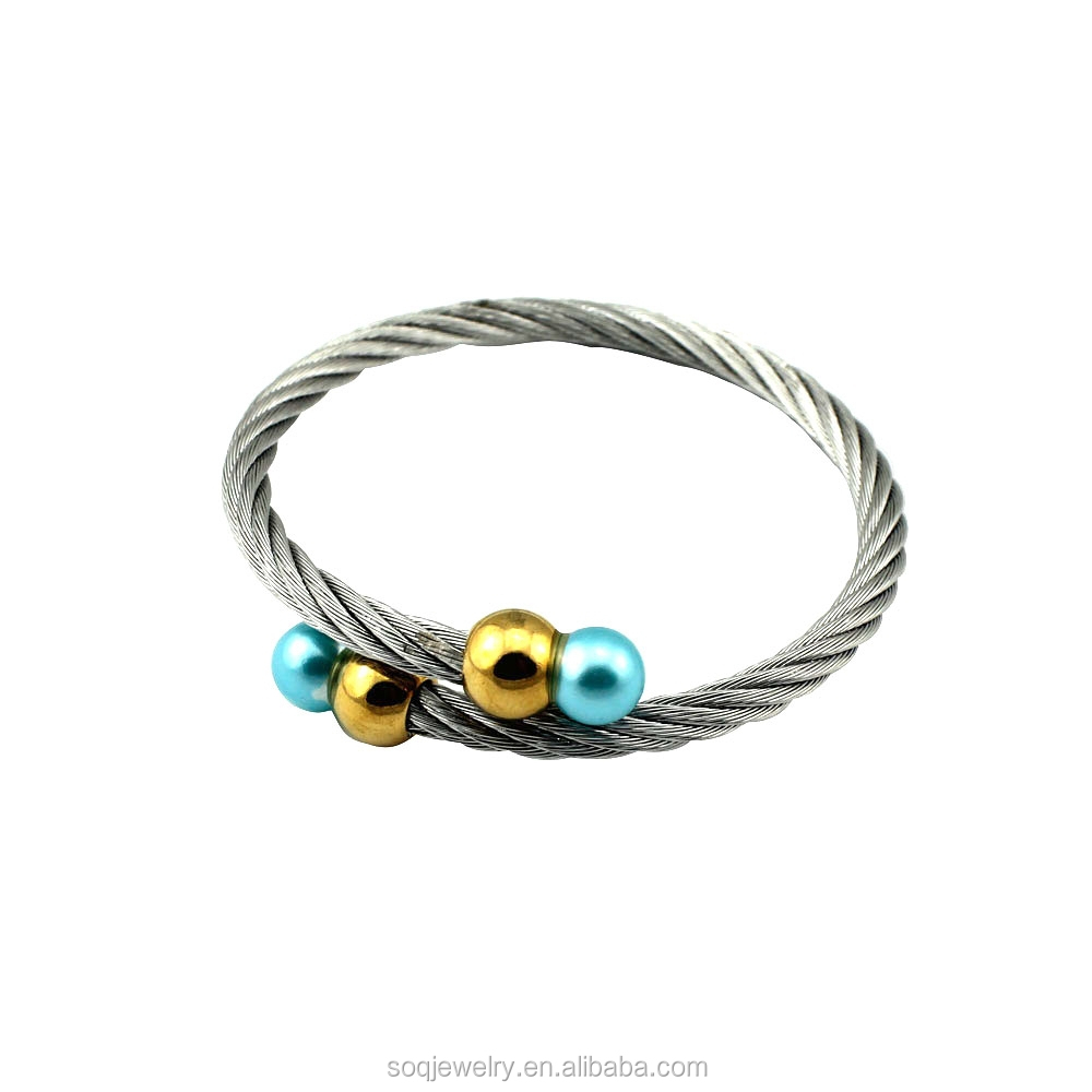 SB0810004 custom jewelry imported from china unique stainless steel bangles popular style hot sell