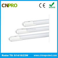 Top Grade 1200mm Radar Motion Sensor T8 LED Tube 18W 85-262V 3 Years warranty
