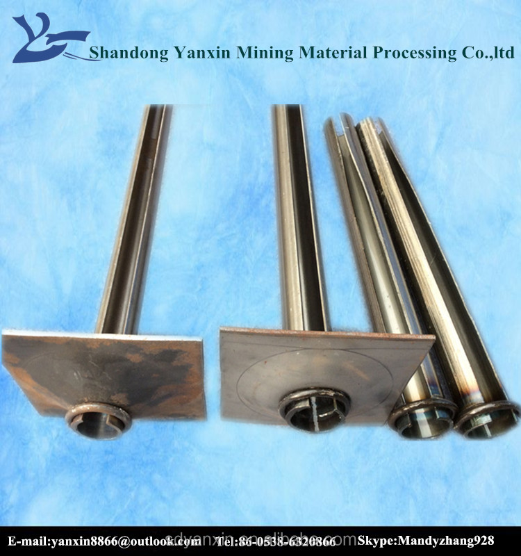 high quality Split set rock bolt friction bolt rock stabilizer for coal mining roof supporting
