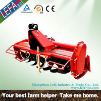 Agriculture machinery tractor used PTO ferrari type rotary tiller